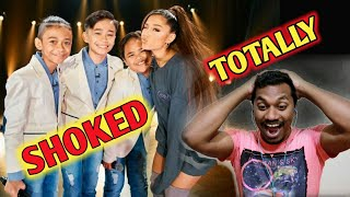 Indian Reaction Ariana Grande Surprises TNT Boys f  'The World's Best'