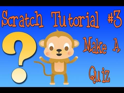 Scratch Tutorial 3: Quiz Game