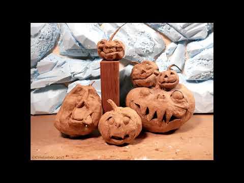 Papermache Pumpkins: A Slideshow Tutorial