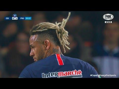 Neymar vs GSI Pontivy HD 1080i (06/01/2019)