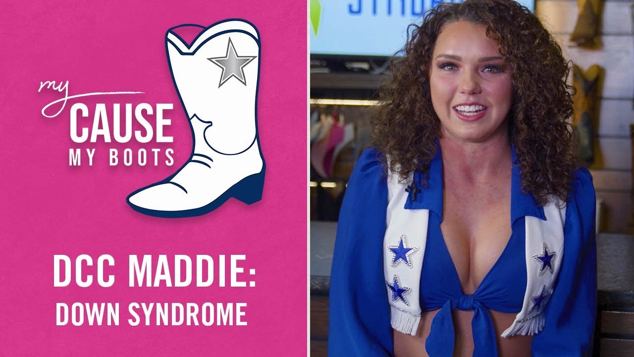 65a5326197af My Cause, My Boots: DCC Maddie, Down Syndrome Awareness | Dallas Cowboys  2018-2019