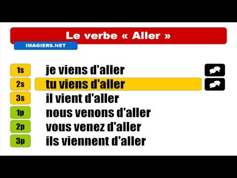 french verbs aller pass r cent youtube. Black Bedroom Furniture Sets. Home Design Ideas
