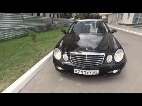 Старый Е-класс (W211) из немецкого такси. Живой?!