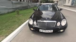 Старый Е класс (W211) из немецкого такси  Живой?!