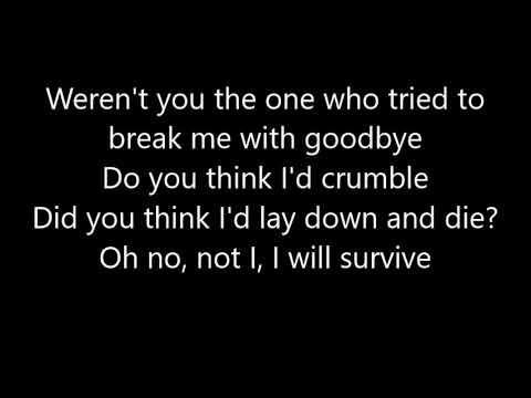 i-will-survive~gloria-gaynor~lyrics