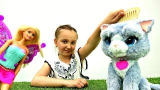 Игры для девочек: Кукла Барби фея исполняет желание