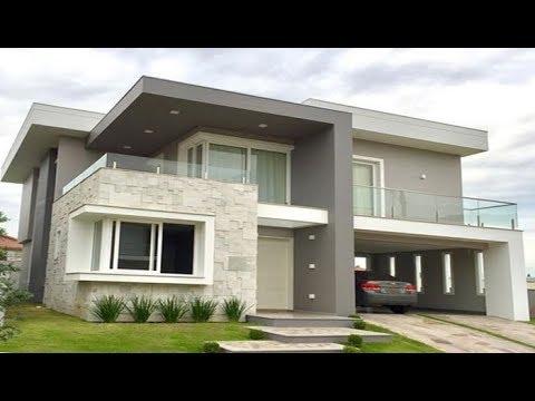 Cute Modern Double Floor House 1500 Sft For 15 Lakh