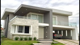 Cute Modern Double Floor House 1500 Sft For 15 Lakh | Elevation | Design | Interior