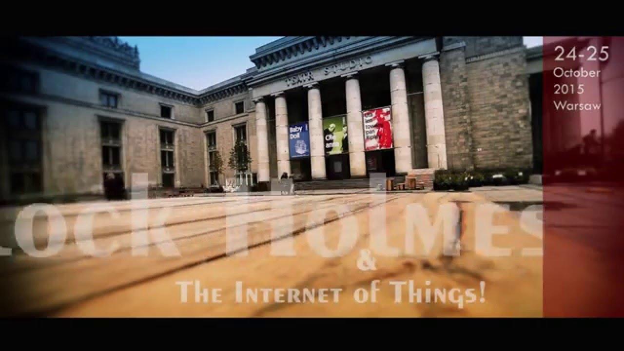 Sherlock Holmes & the Internet of Things – storyteller
