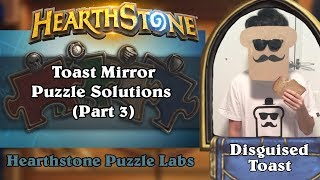 Hearthstone Puzzle Labs - Toast Mirror Puzzle Solutions (Part 3)