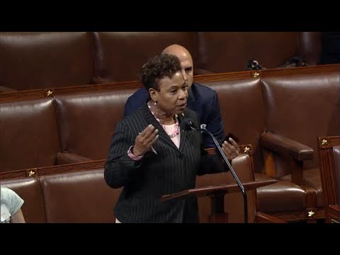 Lee Gets Fired Up on House Floor Over Removal of AUMF Amendment