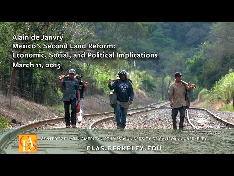 Mexico's Second Land Reform: Economic, Social, and Political Implications