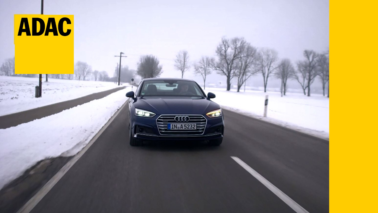 Adac Autotest Audi A5 2 0 Tfsi Quattro I Adac 2017 Youtube