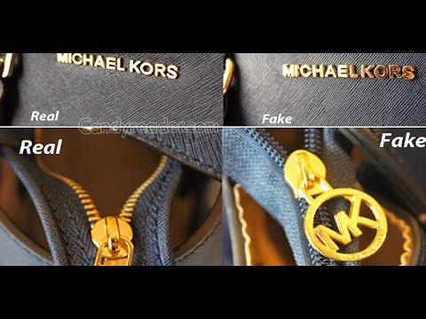 This Is How You Can Spot a Fake Michael Kors Bag - YouTube