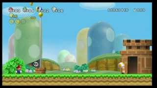 New Super Mario Bros. Wii - E3 Stage Demo 2009
