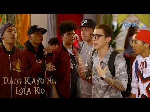 Daig Kayo Ng Lola Ko: Rap battle against The Bulldogs