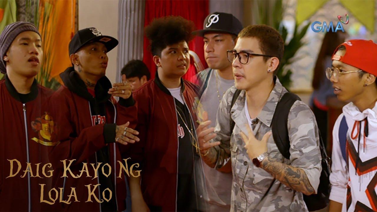 Daig Kayo Ng Lola Ko: Rap battle against The Bulldogs