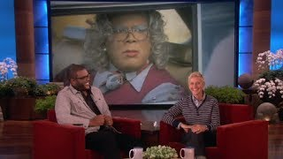 Tyler Perry on Playing Madea on Ellen show