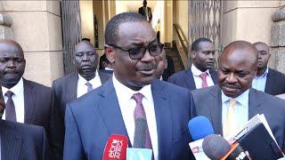 Kidero trains guns on lawyer Ahmednasir in Tunoi bribery saga