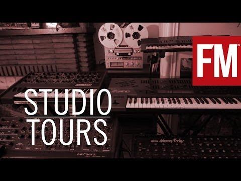 Legowelt - Studio Tour