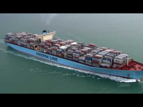 The Biggest Ship In The World - Documentary On The Biggest Cargo Ship