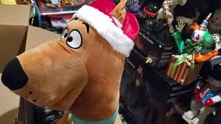 Gemmy 2020 Scooby-Doo  Life Size Animated Character Unboxing and Set-Up