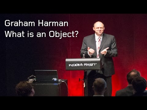 Graham Harman at Moderna Museet: What is an Object?