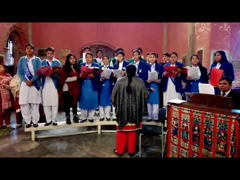 Long ago  Carol by the Cathedral School, Hall Road, Choir 2017