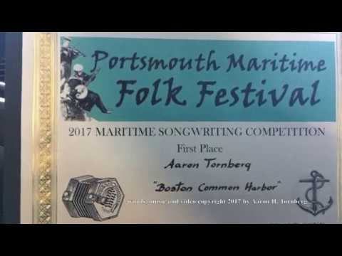 Boston Common Harbor from Portsmouth 2017 Maritime Folk Festival - September 23, 2017