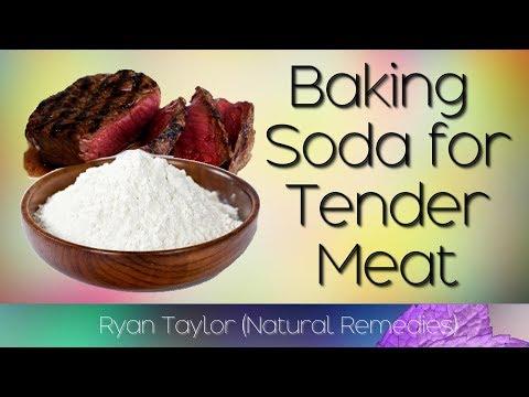 Baking Soda: to Tenderize Meat
