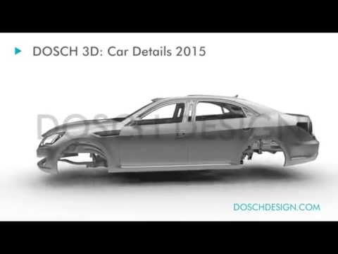 Dosch 3d Car Details 2015 Turntable Youtube