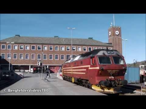🔵 Bodø mit/med Regiontog manøver +Avreise til Trondheim & Hurtigruten +Avreise +møte med MS Polarlys