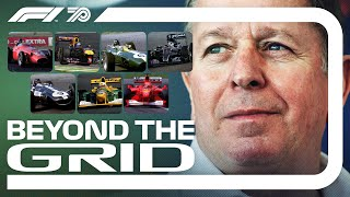 Martin Brundle Interview | Beyond The Grid | F1 Official Podcast