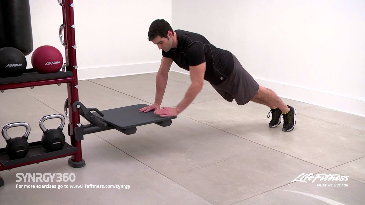 Lateral Arm Step Ups - YouTube