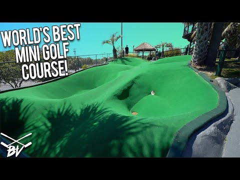 RETURNING TO THE BEST MINI GOLF COURSE IN THE WORLD! - CRAZY MINI GOLF SHOTS AND INSANE HOLE IN ONES