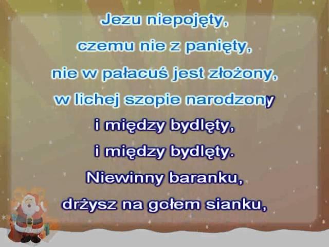 Karaoke Kolęda - Jezu Śliczny Kwiecie ( www.letsing.pl )