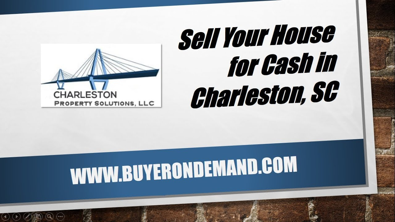 Sell House Cash Charleston SC