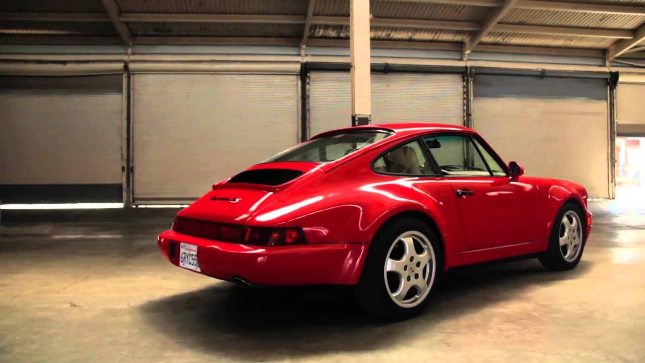 1994 Porsche 911 Carrera 4 Up Close Personal