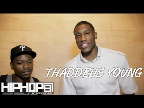 Thaddeus Young Talks Giving Back, 76ers, Hip Hop & more