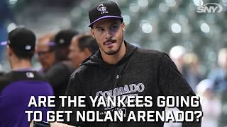 Could the Yankees be making a push to get Nolan Arenado?