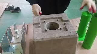 스마트기초(콘크리트기초,주춧돌)사용설명