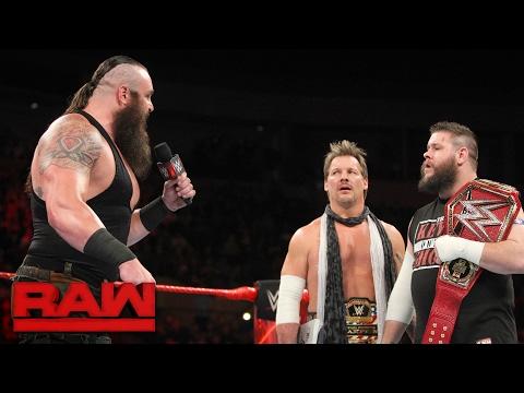 Braun Strowman demands his WWE Universal Title opportunity: Raw, Jan. 30, 2017