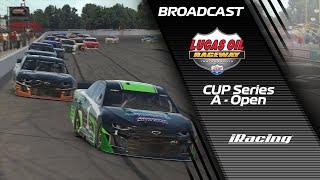 Cup Series - Lucas Oil Raceway - iRacing Broadcast