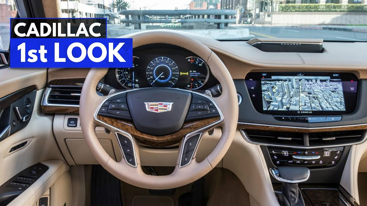 Meet The Exquisite Interior Of 2017 Cadillac Ct6