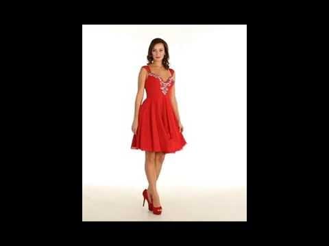 FDS1188 Flirty Prom Dress