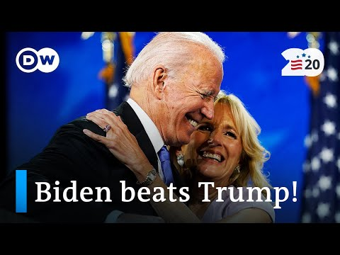 Joe Biden beats Donald Trump to win US presidential election | US election 2020