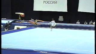 Анна Павлова / Anna Pavlova в 2002 году Вольные упражнения
