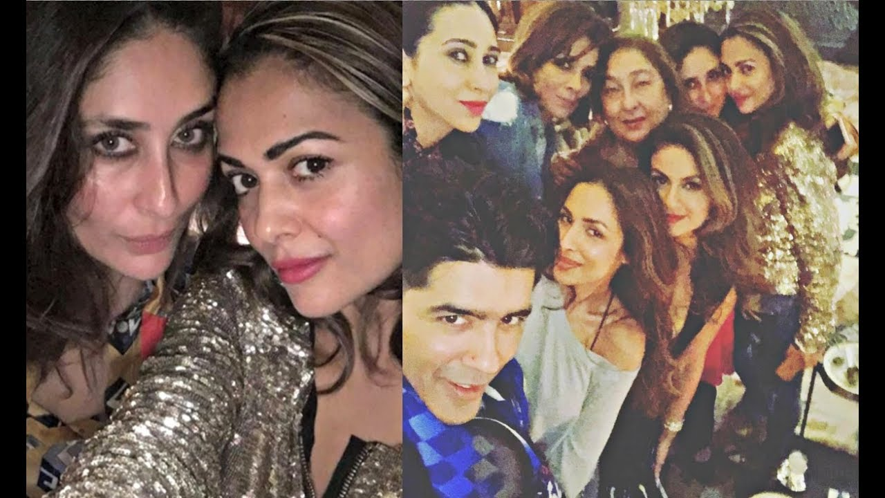 Kareena Kapoor Parties With Malaika Arora Khan, Karishma ...