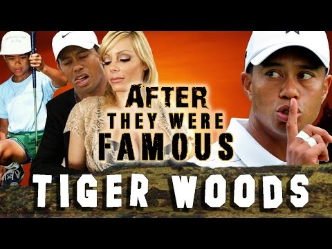 TIGER WOODS - AFTER They Were Famous