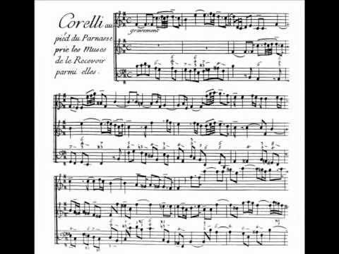 Couperin - Le Parnasse, ou L'apothéose de Corelli - I. Gravement